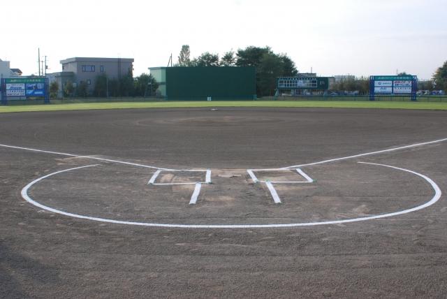 砂の野球場